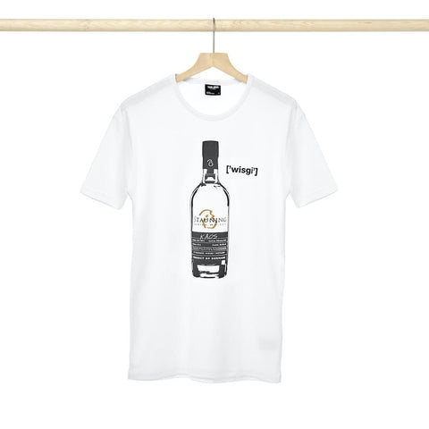 Load image into Gallery viewer, Stauning Whisky T-shirt - KAOS - White
