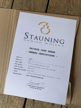 stauning whisky whisky CASK SHARE - CALVADOS CASK - SINGLE MALT WHISKY
