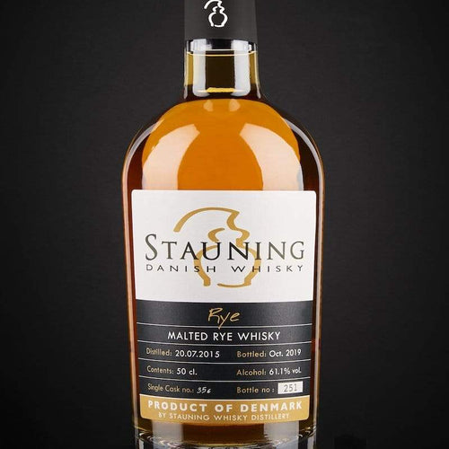stauning whisky whisky Stauning Rye - Cask Strength - October 2019