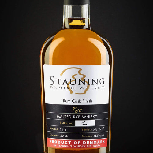 stauning whisky whisky Stauning Rye - Rum Finish - July 2019