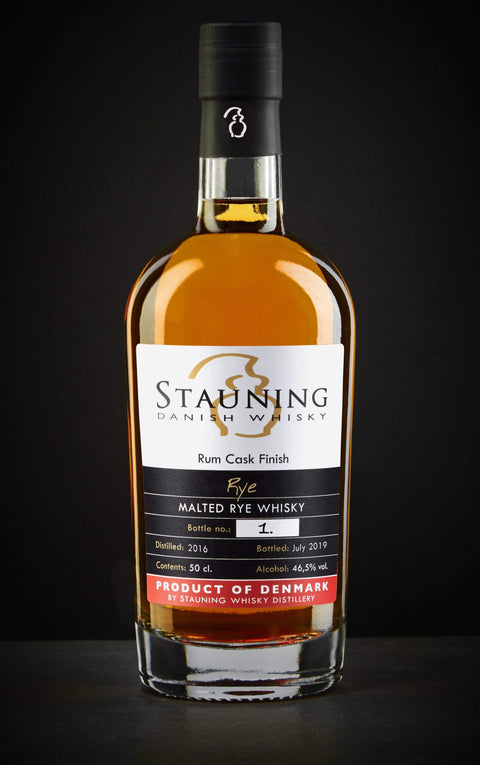 Load image into Gallery viewer, stauning whisky whisky Stauning Rye - Rum Finish - July 2019