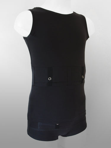 Børn Reversible Tank Top - Sort