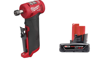 Milwaukee M12 FUEL right angle grinder with 6.0 M12 battery