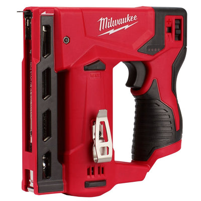 Milwaukee M12 3/8 in. Crown Stapler (Bare Tool)