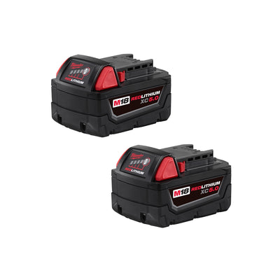 2-pk of M18 REDLITHIUM XC5 Extended Capacity Battery