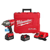 "M18 FUEL One-Key 1/2"" High Torque Impact Wrench w/ (2) Batteries Kit"