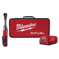 "Milwaukee® M12™ FUEL™ 3/8"" Extended Reach Ratchet 1 Battery kit"