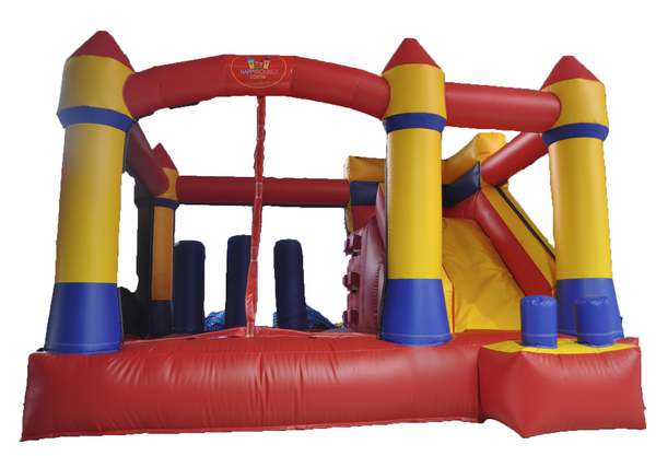Happy Bouncy Castle - Obstacle Bouncy Castle