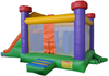 Rainbow Slide Bouncy Castle