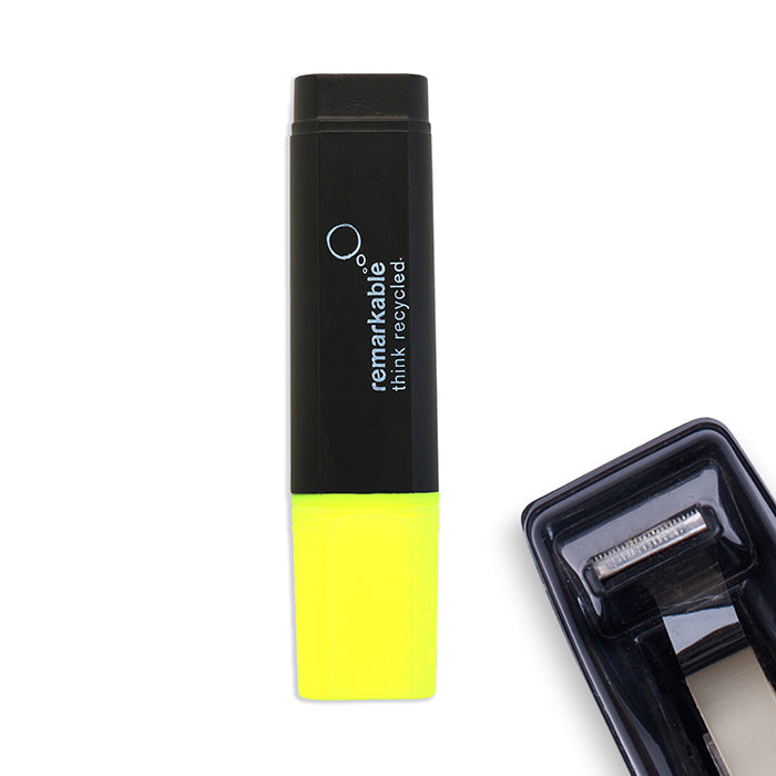 Recycled Plastic Highlighter