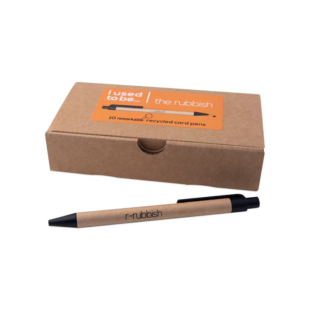r-Rubbish Recycled Paper Pen