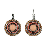 Boho Beads Short Drop Clips Earrings