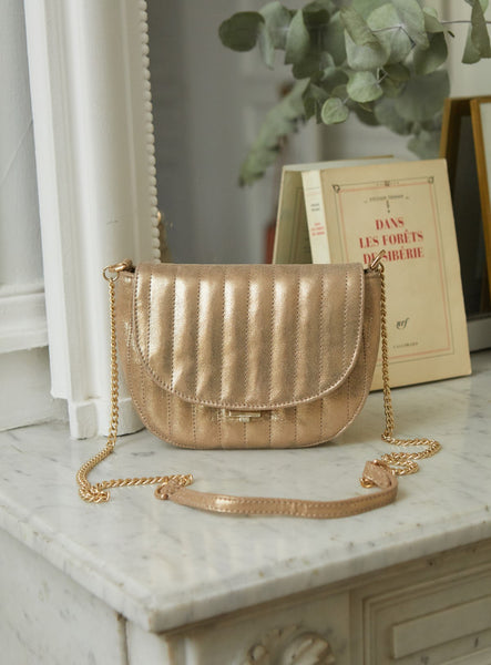 Sac Rosali Foil Light Gold