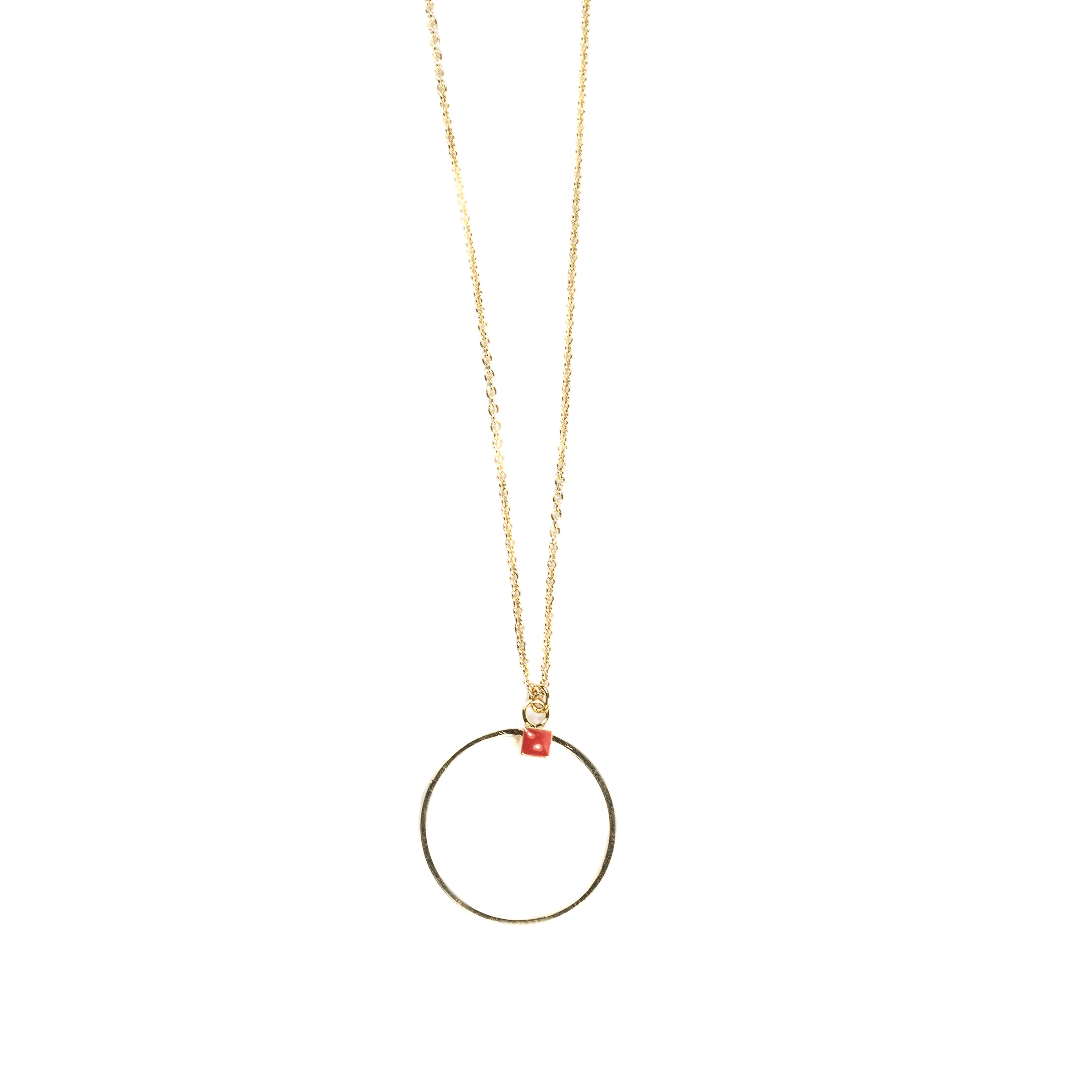 Collier NICE GM - rouge Frida