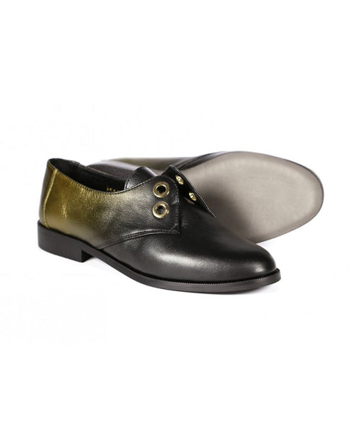 Derbies Jany Noir Or