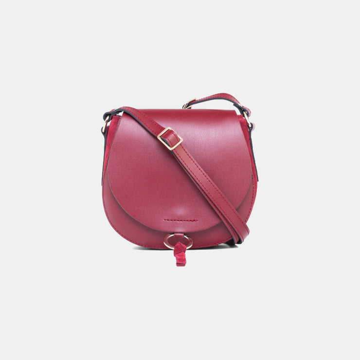 Sac Grape Cuir - Rouge