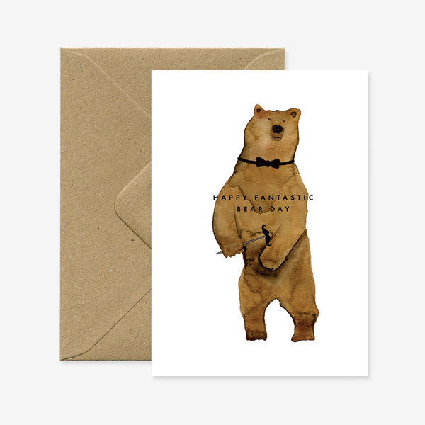 Carte Happy Bearday