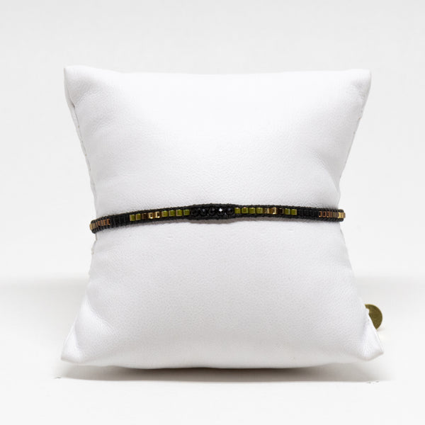 Bracelet BP Gold - Black & Olive 3