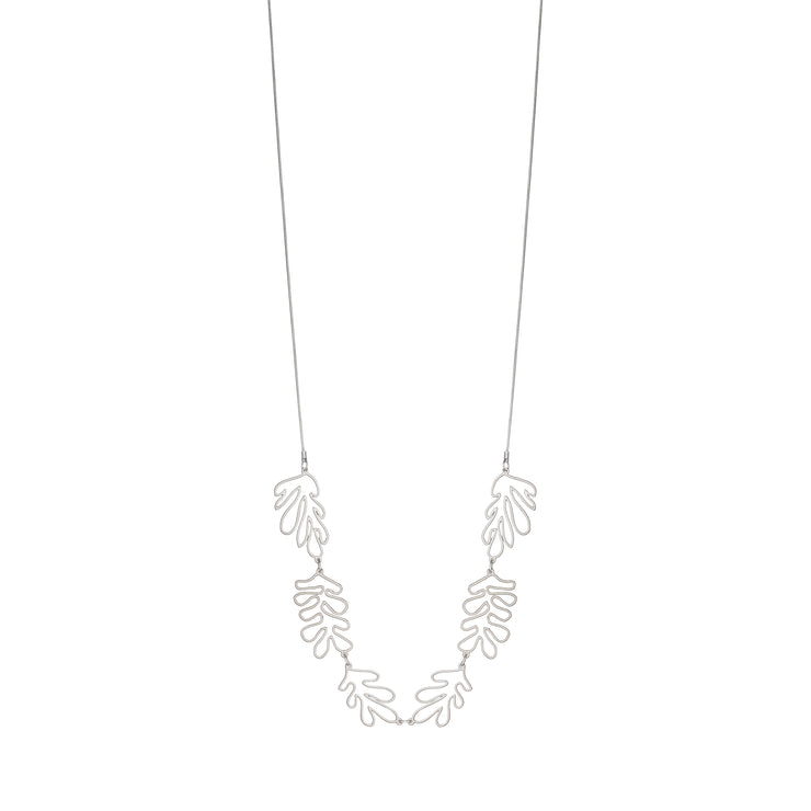 Collier Long Matisse Argenté