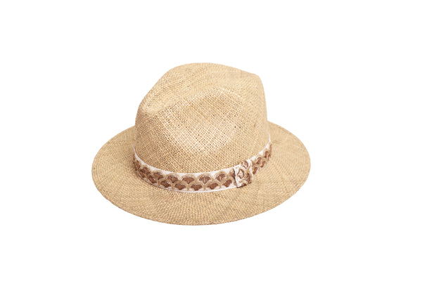 Chapeau Panama Galon - Sable
