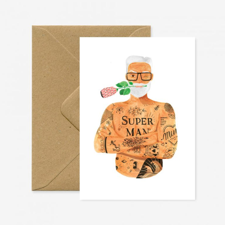 Carte Superman Prothea