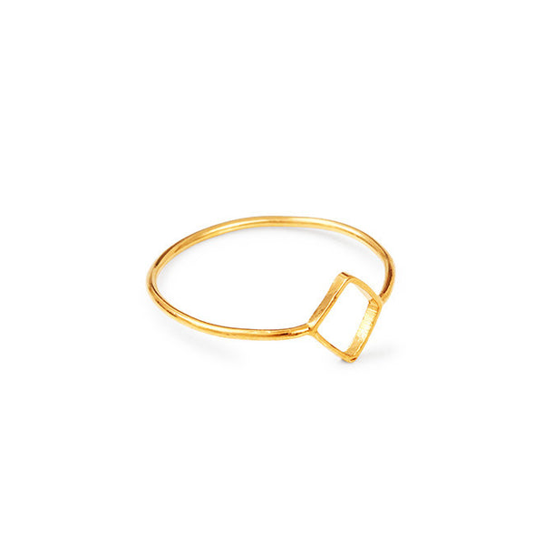Bague LA - Or Jaune