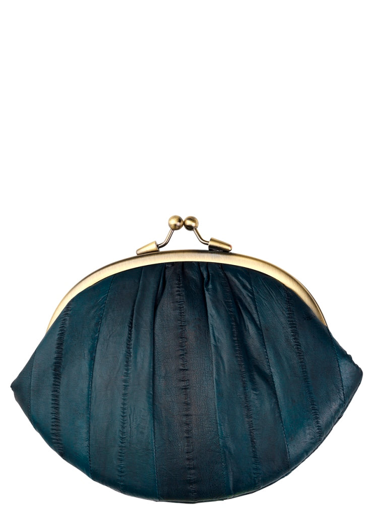 Pochette Granny north atlantic - Bleu pétrole