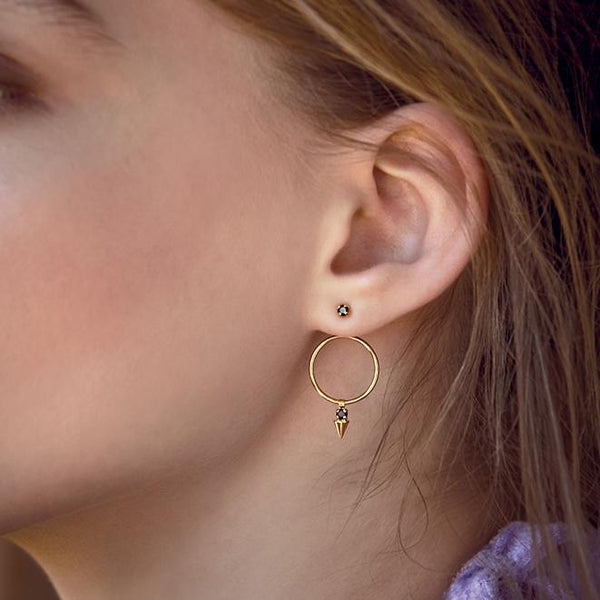 BDM viva frida shop online boutique lausanne boucles d'oreilles CAPRICE OR