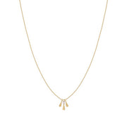 Collier Charlotte Court - Rose Opale