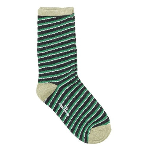 Chaussettes Duca Stripes - Pepper Green