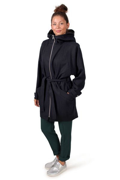 Manteau Elinor mavis - Blue nuit