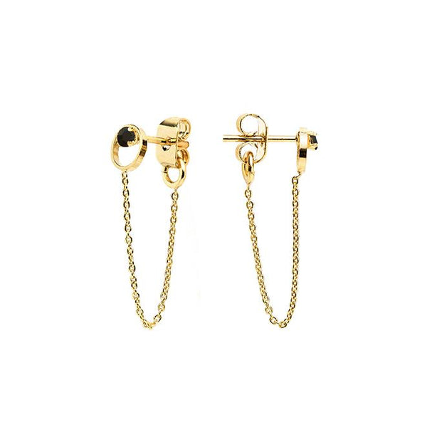 BDM viva frida shop online boutique lausanne boucles d'oreille shadow chaine jet