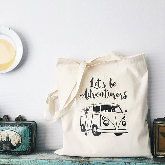 Tote bag - Let's be adventures