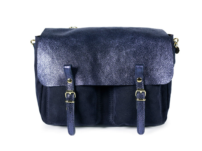 Sac Mini Maths Glacier Marine - Blue