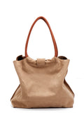 Camel Brown Leather Purse