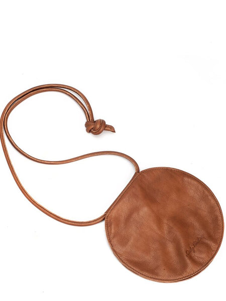 Brown Circle Bag