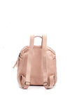 Womens Mini Nude Leather Festival Backpack