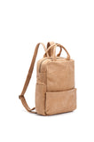 "Camel Leather 13"" Laptop Backpack - Kipi"