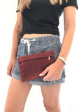 Leather Passport Clutch Wallet - Colors Available