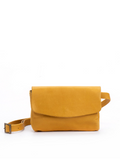Leather Envelope Crossbody Fanny Pack