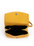 Inside Details Yellow Purse