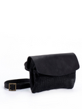 Black Clutch Crossbody Purse