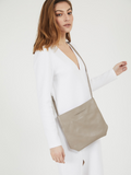 Soft Leather Crossbody Clutch