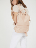 Soft Light Pink Feminine Womens Student Backpack