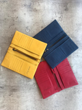 Colorful Leather Bifold Wallet - Alice