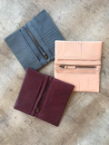 Small Leather Bifold Wallet - Alice