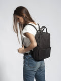 15 Inch Leather Backpack Women Men