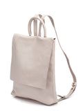 Nude Leather Flap Backpack