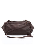 Bohemian Handmade Brown Leather Crossbody Purse