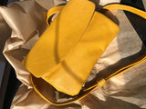 Colorful Yellow Envelope Clutch Purse
